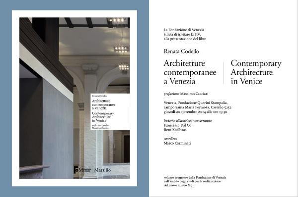 invito Architetture contemporanee a Venezia