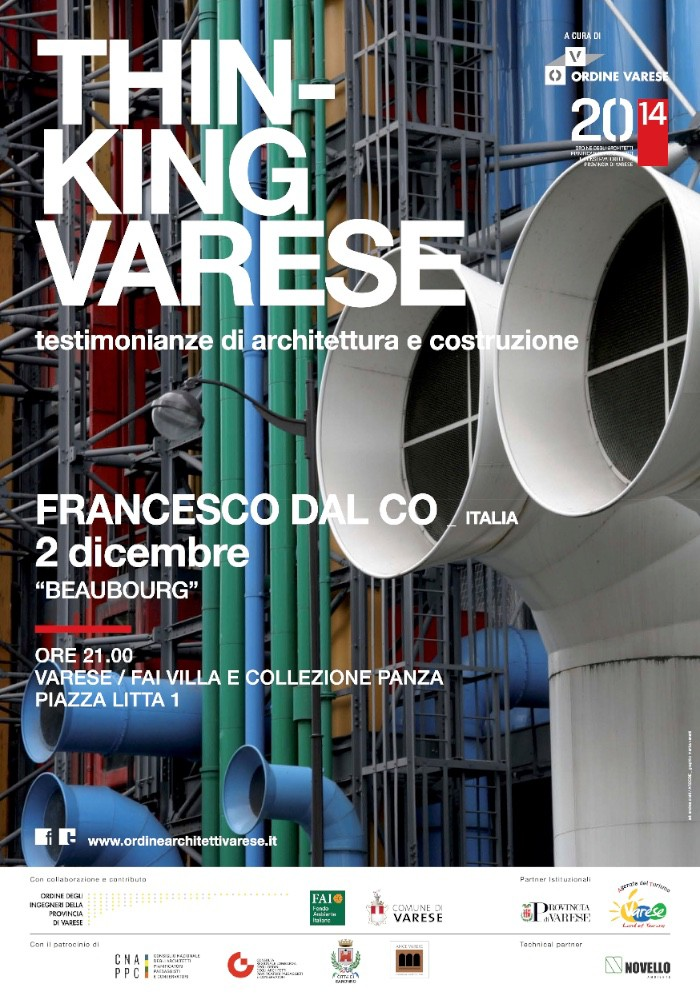 locandina Francesco Dal Co Varese imagecredits ordinearchitettivarese.it