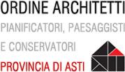 logo Ordine degli Architetti PPC di Asti imagecredits ordinearchitettiasti.it