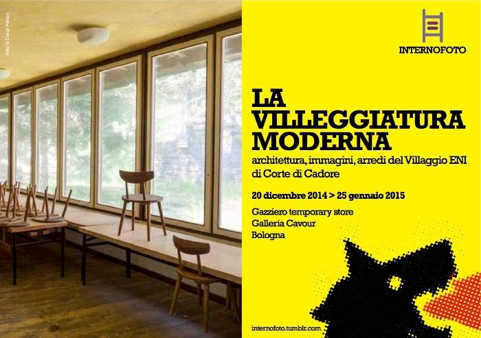 flyer La villeggiatura moderna Bologna imagecredits internofoto.tumblr.com
