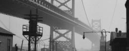 dettaglio da Emil Otto Hoppé Delaware Bridge, Philadelphia, Pennsylvania, 1926, USA Vintage gelatin silver print © E.O. Hoppé Estate Collection Curatorial Assistance