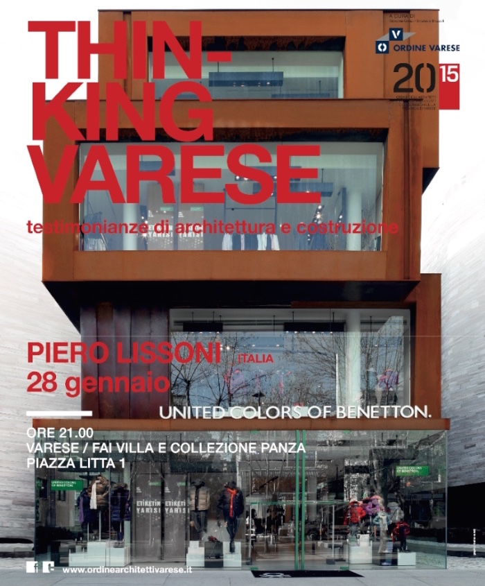locandina Piero Lissoni Varese imagecredits ordinearchitettivarese.it