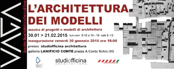 mostra Architettura dei modelli Schio
