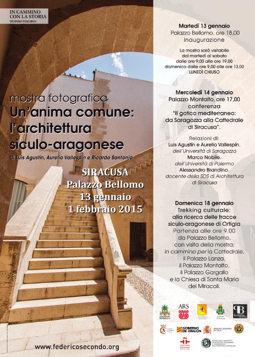 poster Un'anima comune L'architettura siculo-aragonese imagecredits federicosecondo.org