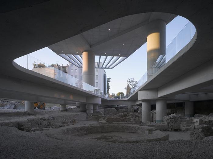 Bernard Tschumi Museo dell'Acropoli di Atene imagecredits premiopiranesi.net