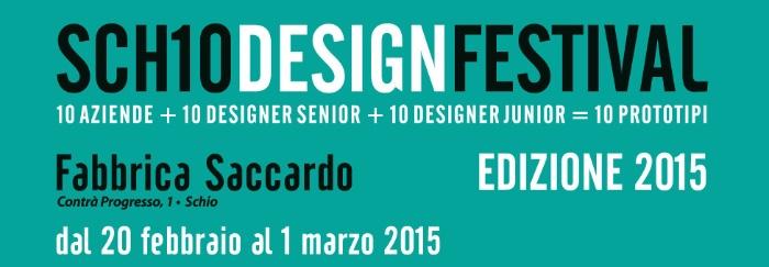 dalla locandina Schio Design Festival 2015 imagecredits schiodesignfestival.it