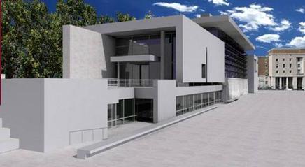 Francesco Moschini L'architettura contemporanea a Roma Richard Meier imagecredits arapacis.it