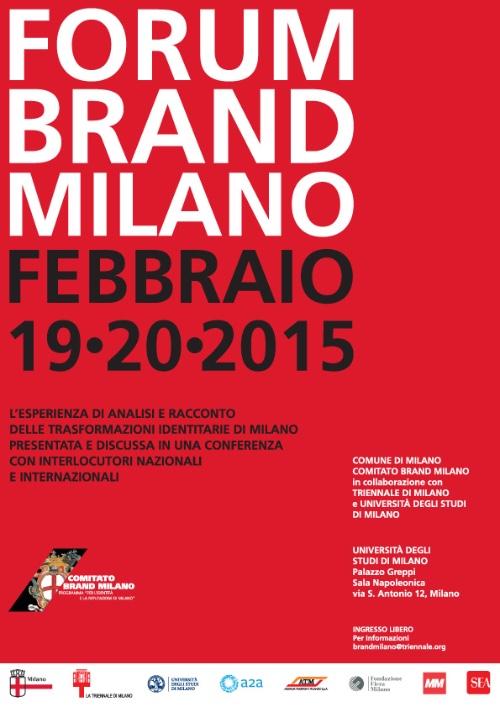 locandina Forum Brand Milano