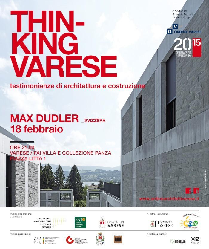 locandina Max Dudler Varese imagecredits ordinearchitettivarese.it