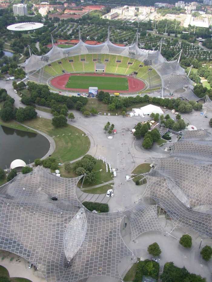 Frei Otto Stadio Olimpico di Monaco di Baviera 1972 imagecredits Dave Morris CC BY 2.0