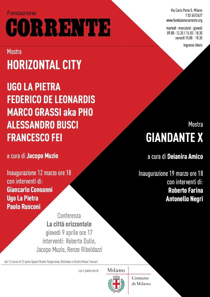 Horizontal city locandina imagecredits fondazionecorrente.org
