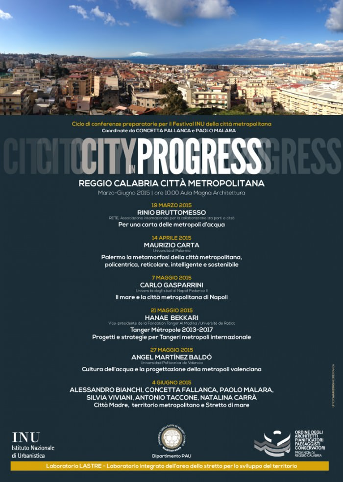 locandina City in Progress Reggio Calabria imagecredits unirc.it