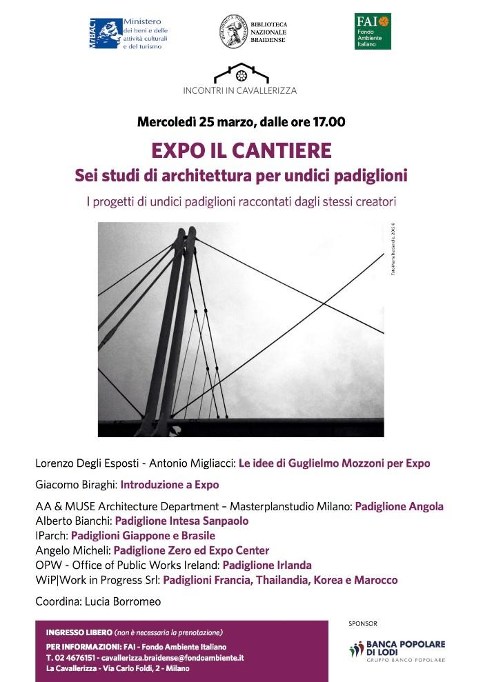 locandina EXPO il cantiere imagecredits fondoambiente.it