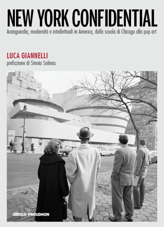 copertina del volume di  Luca Giannelli New York Confidential