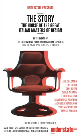 poster mostra The Story - The house of the great Italian Master of Design imagecredits understate.it