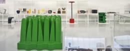veduta dell'allestimento della mostra Plastic Days MEF Torino imagecredits museofico.it