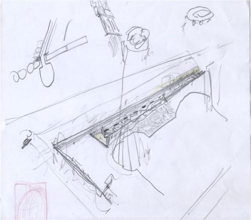 Álvaro Siza studi per la stazione Municipio Napoli imagecredits courtesy Álvaro Siza