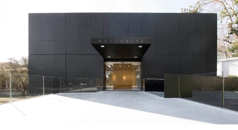 Ingresso del nuovo Padiglione Australia alla Biennale di Venezia progettato da Denton Corker Marshall imagecredits photo by John Gollings courtesy of the Australia Council for the Arts