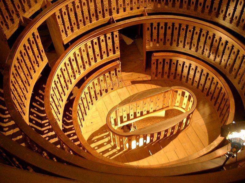 Teatro Anatomico palazzo Bo Padova imagecredits Kalibos CC PD
