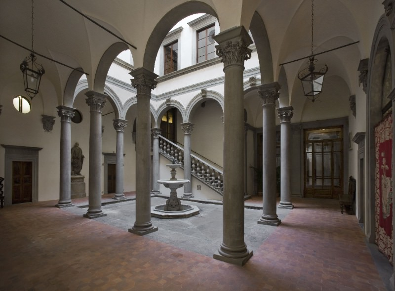 cortile Palazzo Gondi Firenze imagecredits adsi.it