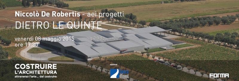 invito Niccolò De Robertis - aei progetti Dietro le quinte Firenze imagecredits spazioafirenze.it