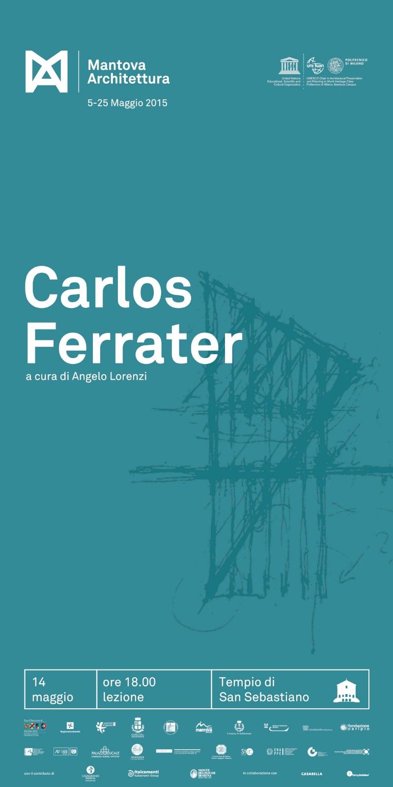 locandina Carlos Ferrater Mantova Architettura 2015 imagecredits mantovarchitettura.polimi.it