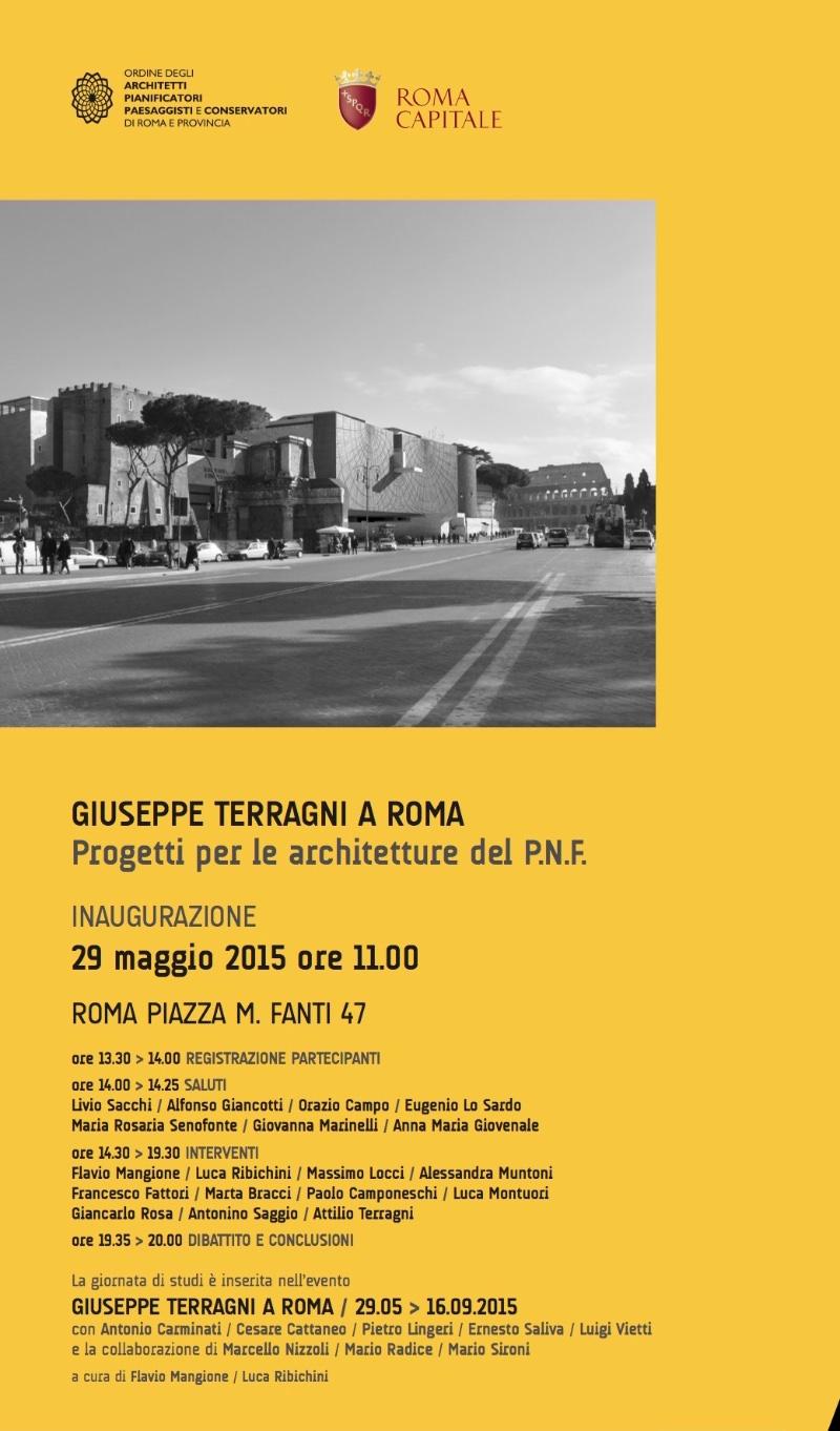 locandina Giuseppe Terragni a Roma imagecredits casadellarchitettura.it