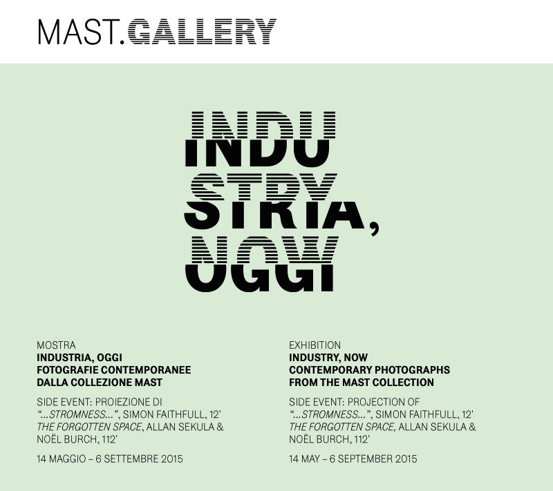 locandina Industria, oggi MAST Bologna imagecredits mast.org