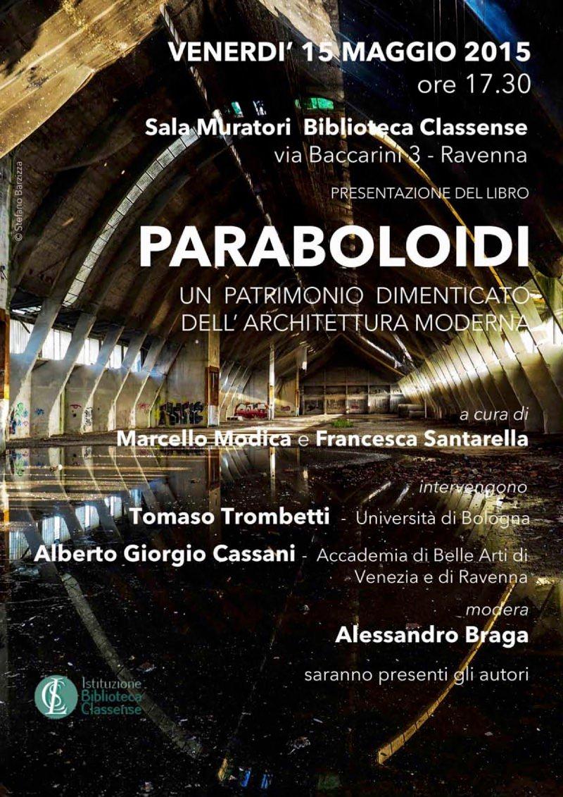 locandina Paraboloidi Ravenna