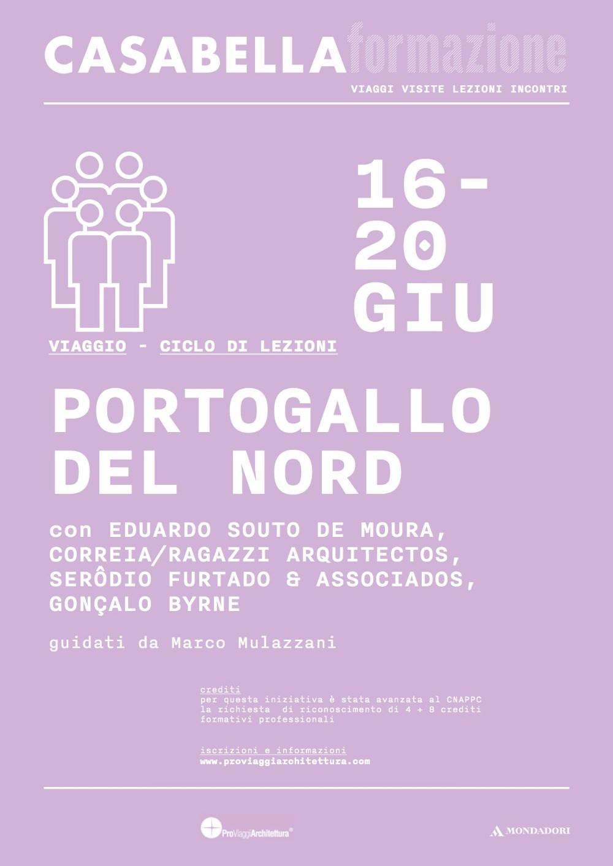 volantino viaggio Portogallo CASABELLA formazione