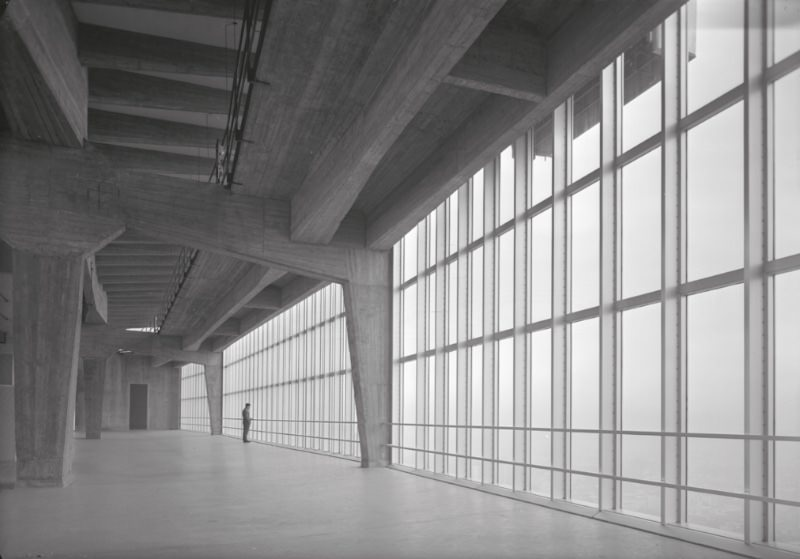 Grattacielo Pirelli imagecredits università IUAV di Venezia Archivio progetti Fondo Canali