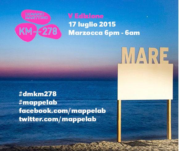Demanio Marittimo Km-278 V edizione 2015 imagecredits mappelab.it