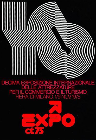 Mimmo Castellano poster X Expo CT Fiera Milano
