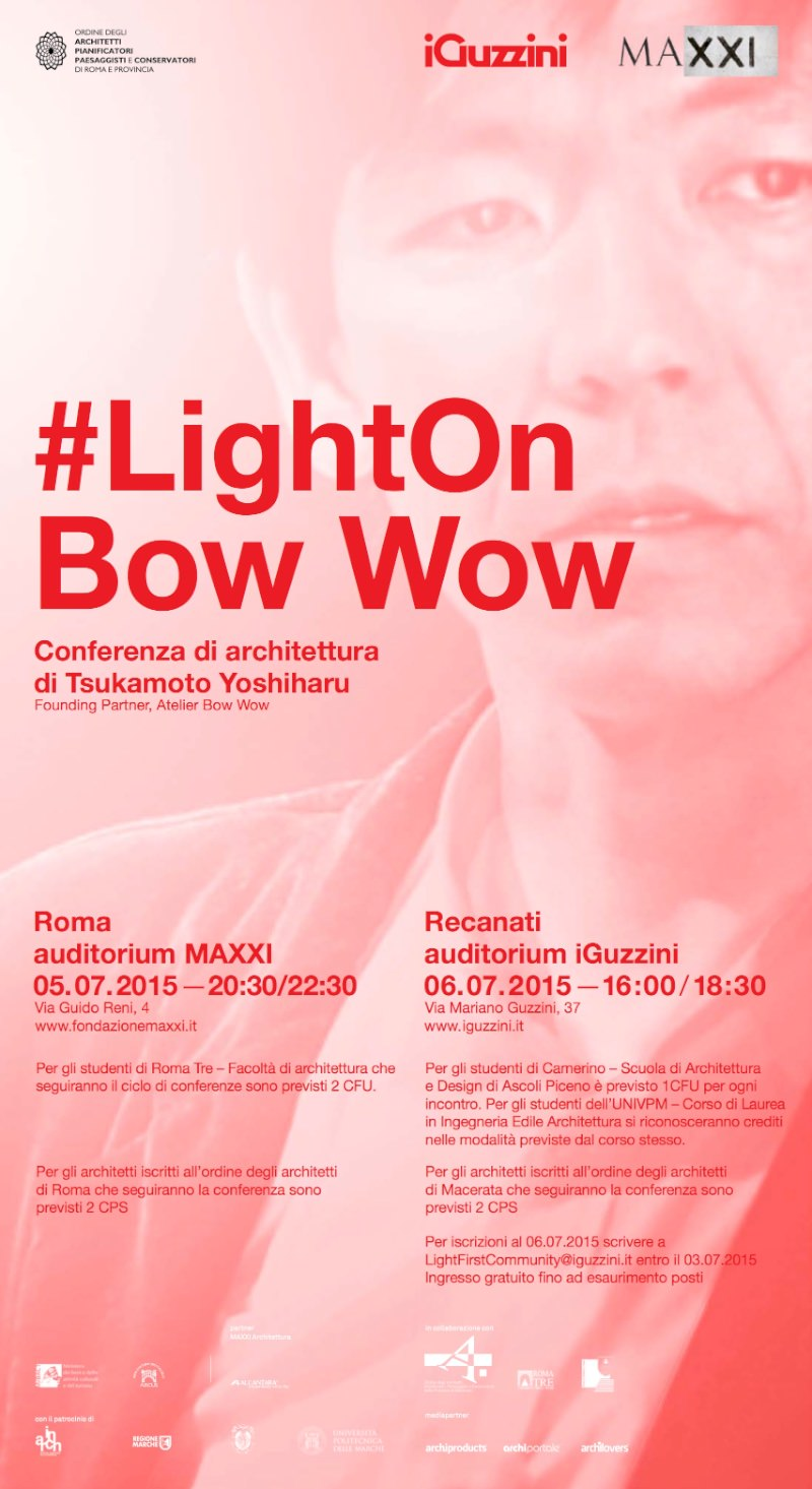 invito Light On Atelier Bow-Wow MAXXI Roma imagecredits iGuzzini MAXXI