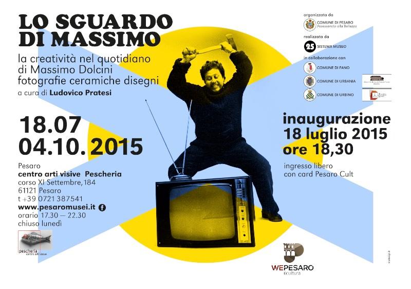 invito alla mostra Lo sguardo di Massimo Pesaro imagecredits pesaromusei.it
