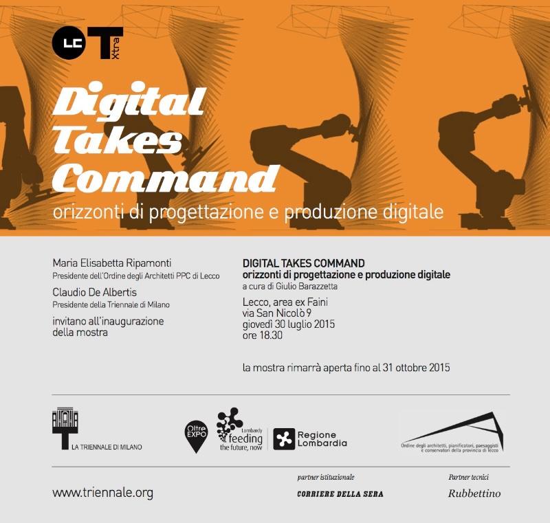 invito mostra Digital takes command Lecco imagecredits triennalextra.org