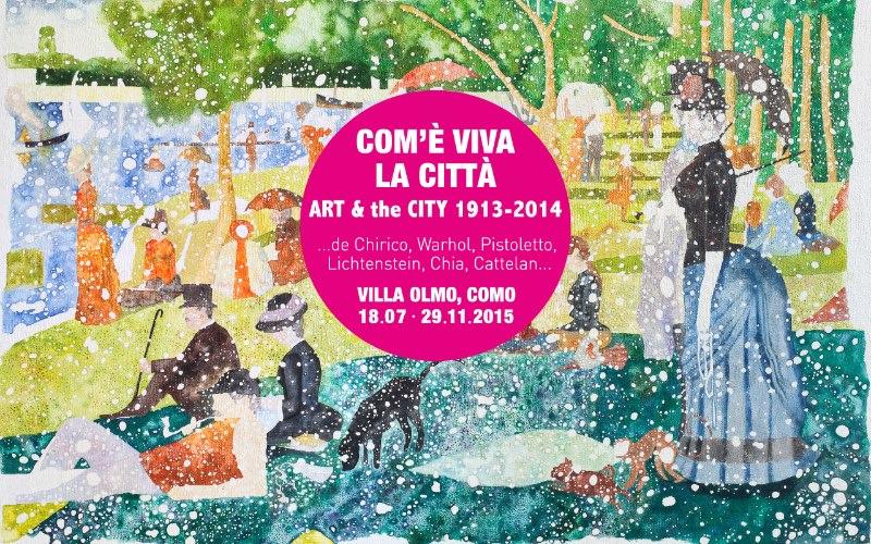 mostra Com'è viva la città Como imagecredits mostrevillaolmocomo.com