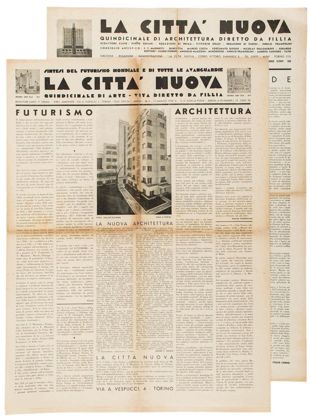 La Città Nuova 1932 6