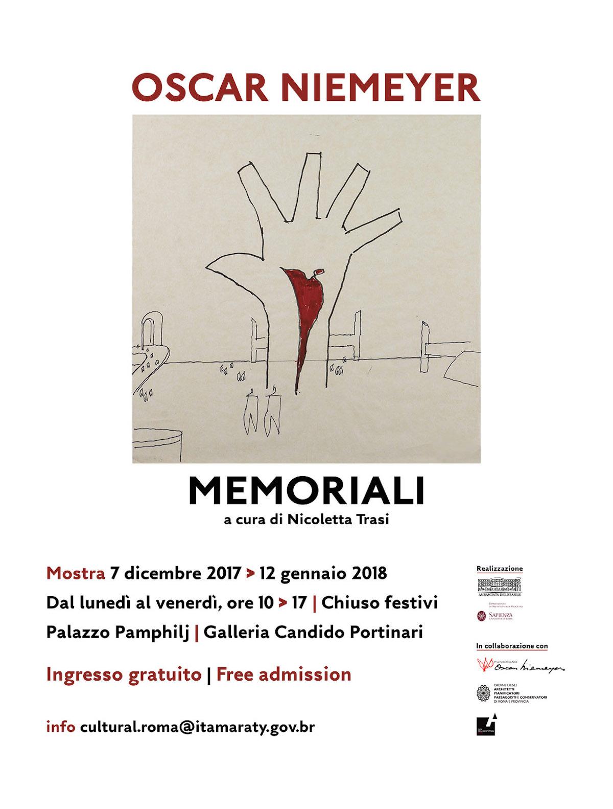 Oscar Niemeyer. Memoriali