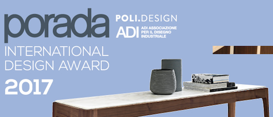Porada international design award 2017 casabella for Porada arredi srl
