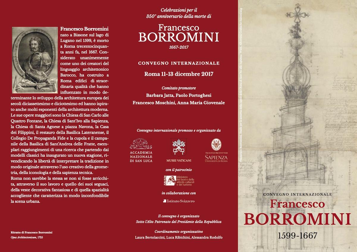 convegno internazionale Francesco Borromini