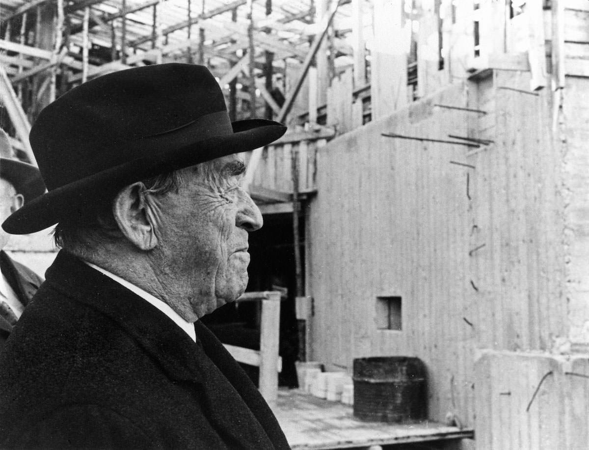 Alvar Aalto 1898-1976 photo Antti Bengts © Alvar Aalto Foundation