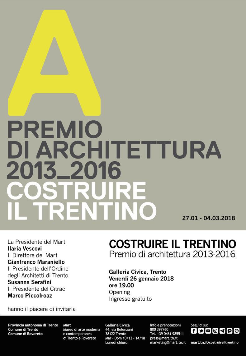 Costruire il Trentino