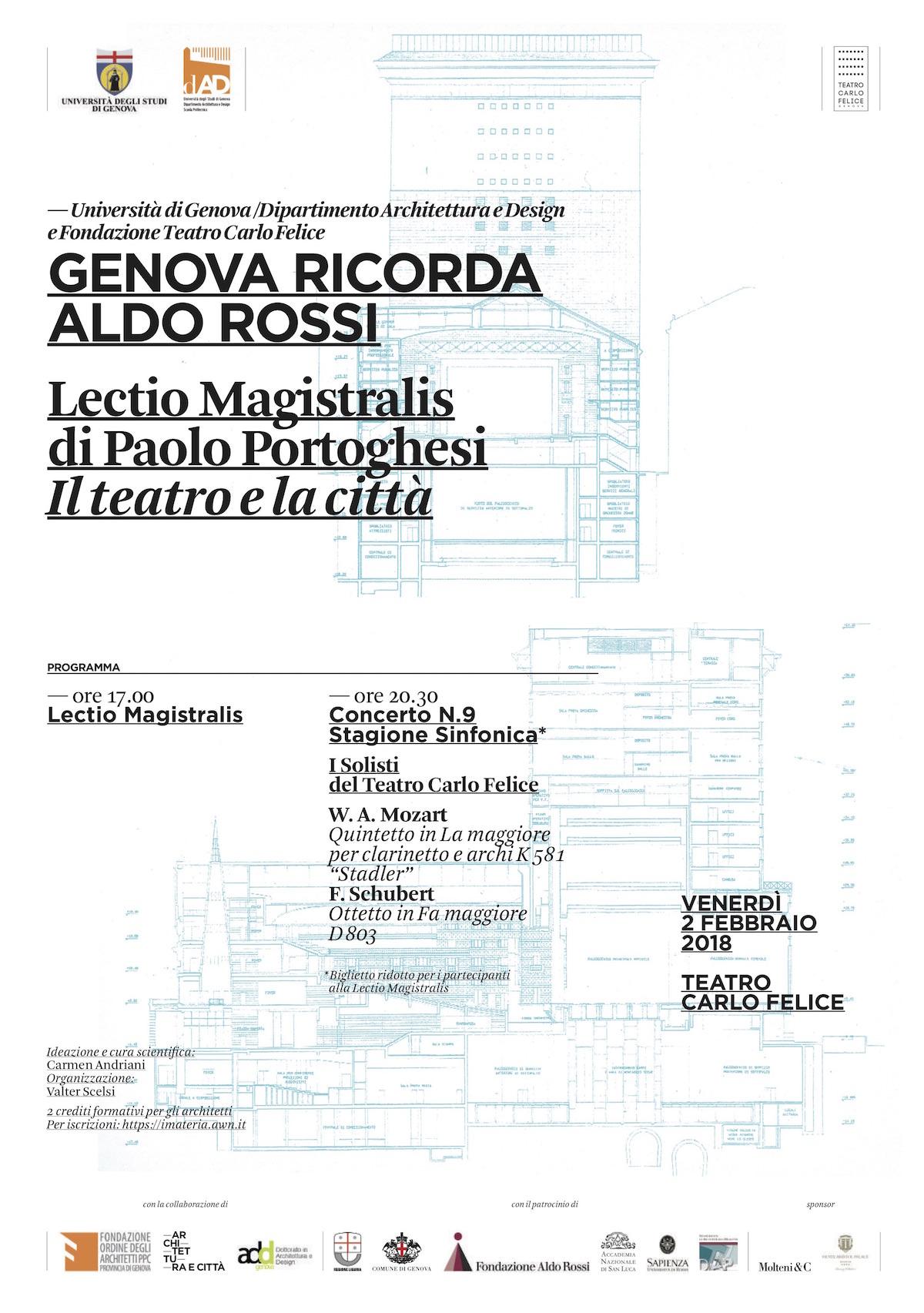Genova Aldo Rossi