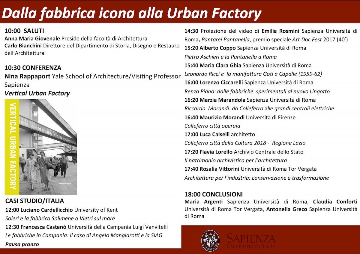 Dalla fabbrica icona alla Urban Factory