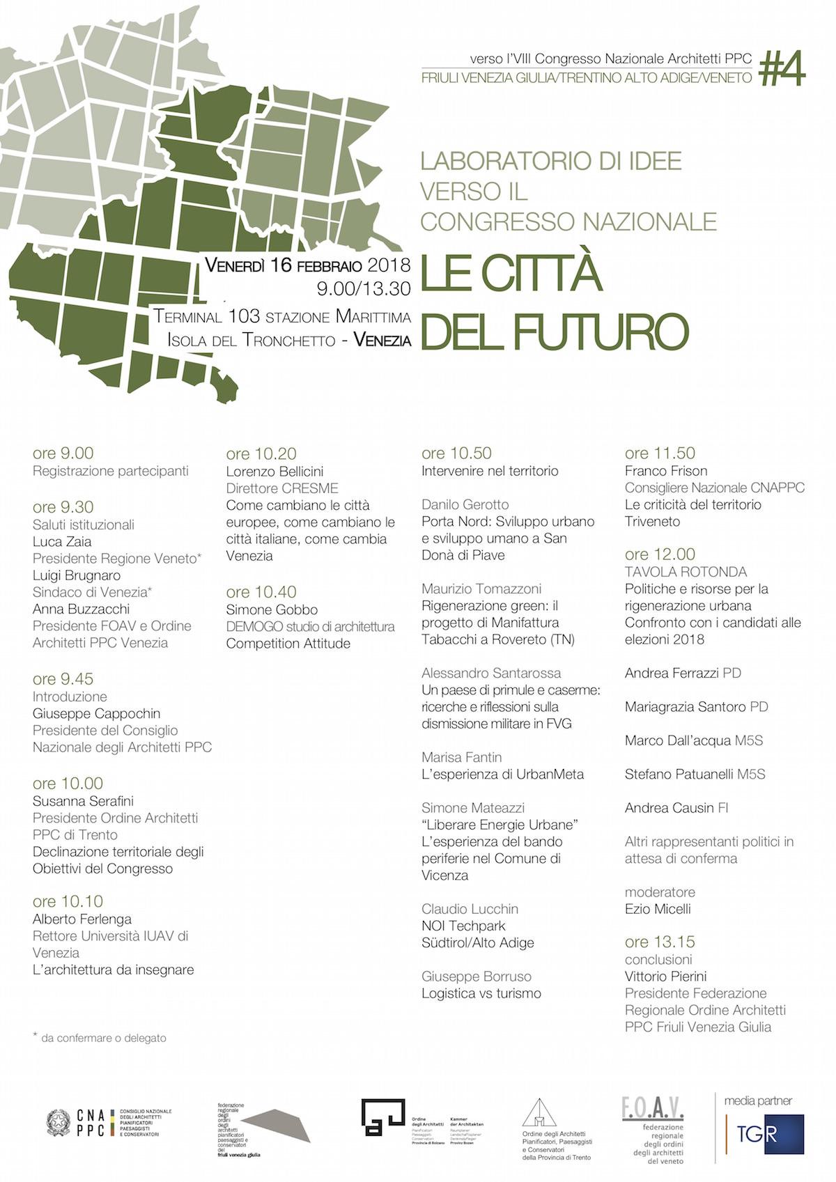 Le città del futuro Venezia
