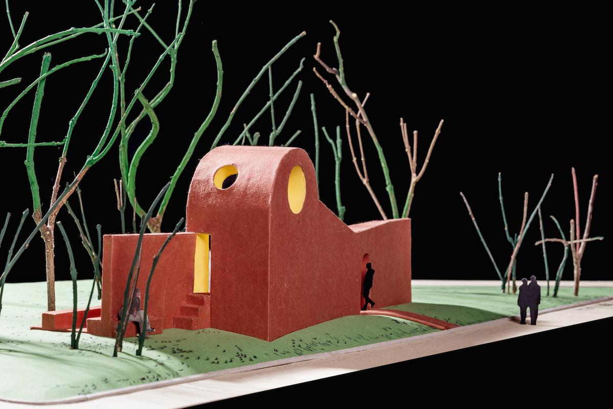Flores e Prats_Cappella, modello di studio 1