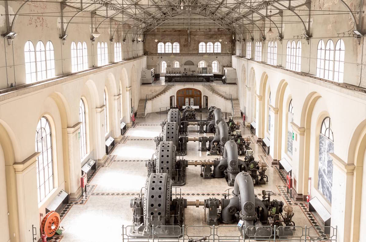 Centrale Pitter di Malnisio_Sala turbine_Foto Giacomo De Donà per Dolomiti Contem