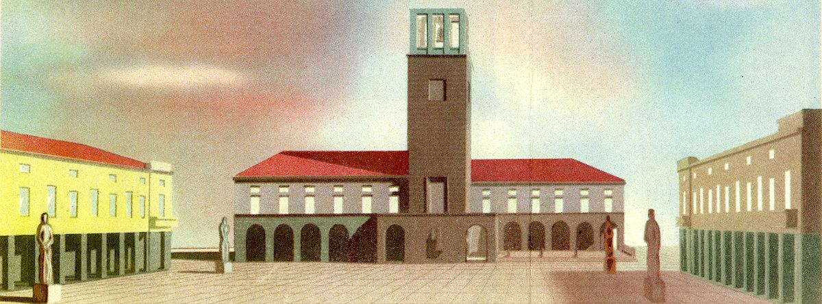 G DE Min La città di fondazione 1940
