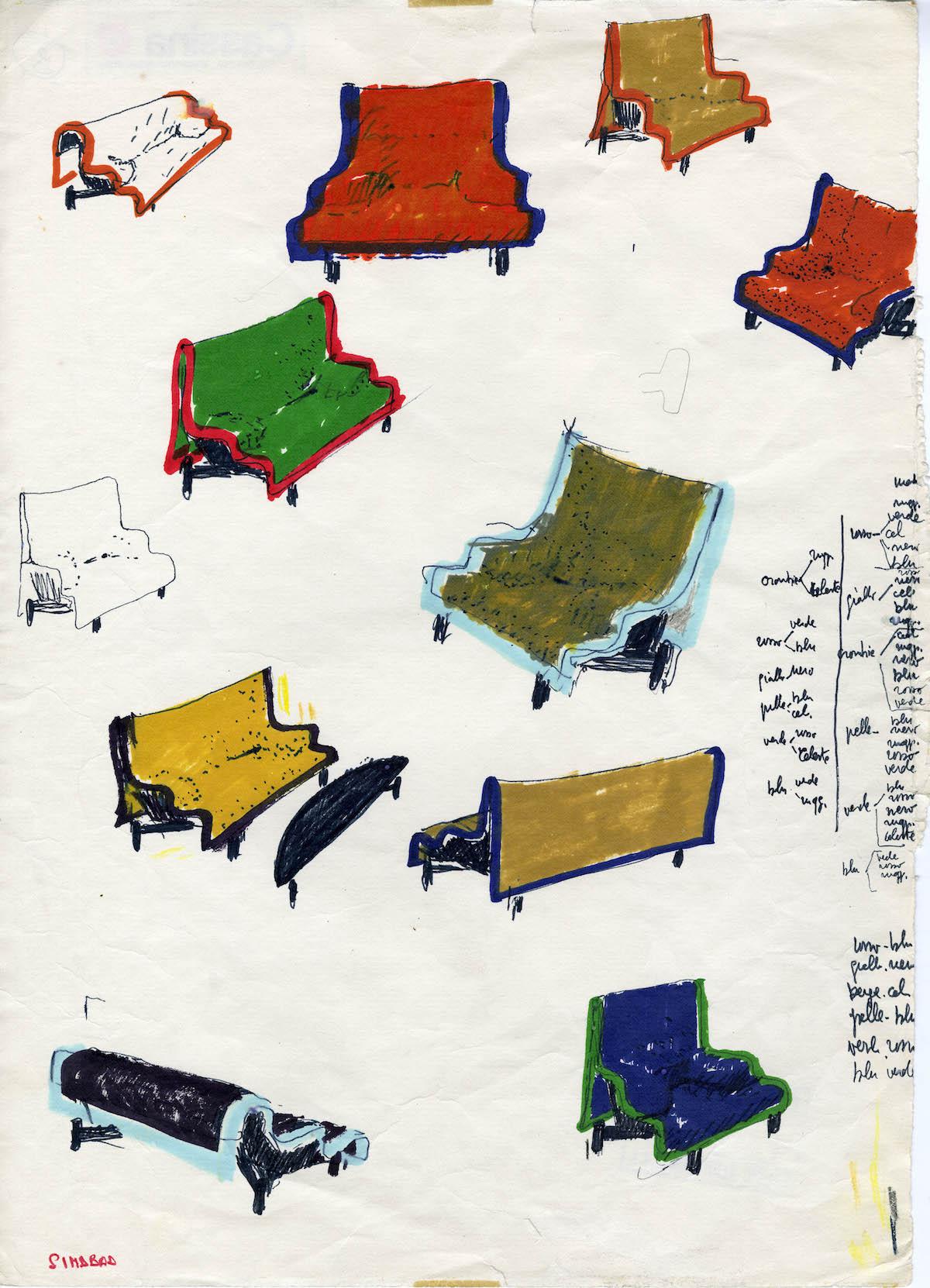 Sindbad - Crediti Fondazione studio museo Vico Magistretti